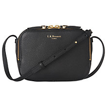 Buy L.K. Bennett Maggie Small Leather Cross Body Bag Online at johnlewis.com