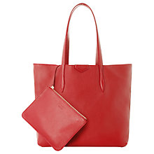 Buy L.K.Bennett Peggy Leather Tote Bag Online at johnlewis.com