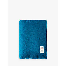 Buy Avoca Mohair Mix Throw, Jade Online at johnlewis.com