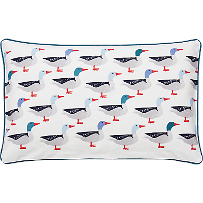 Joules Galley Grade Cushion, Navy