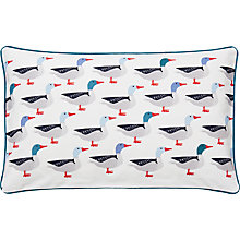 Buy Joules Galley Grade Cushion, Navy Online at johnlewis.com