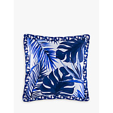 Buy Kas Loewy Cushion, Blue Online at johnlewis.com