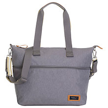 Buy Storksak Travel Expandable Tote Bag, Grey Online at johnlewis.com