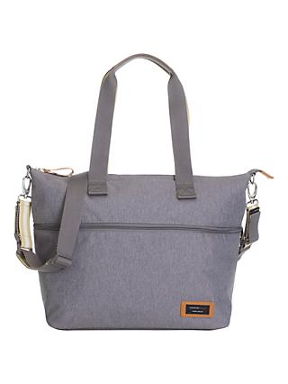 Storksak Travel Expandable Tote Bag, Grey