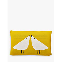 Buy Scion Lintu Knitted Cushion, Yellow Online at johnlewis.com