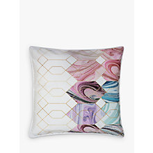 Buy Ted Baker Sea of Clouds Cushion, Pink Online at johnlewis.com