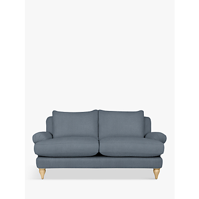 Croft Collection Findon Medium 2 Seater Sofa, Beaulieu Lake Blue