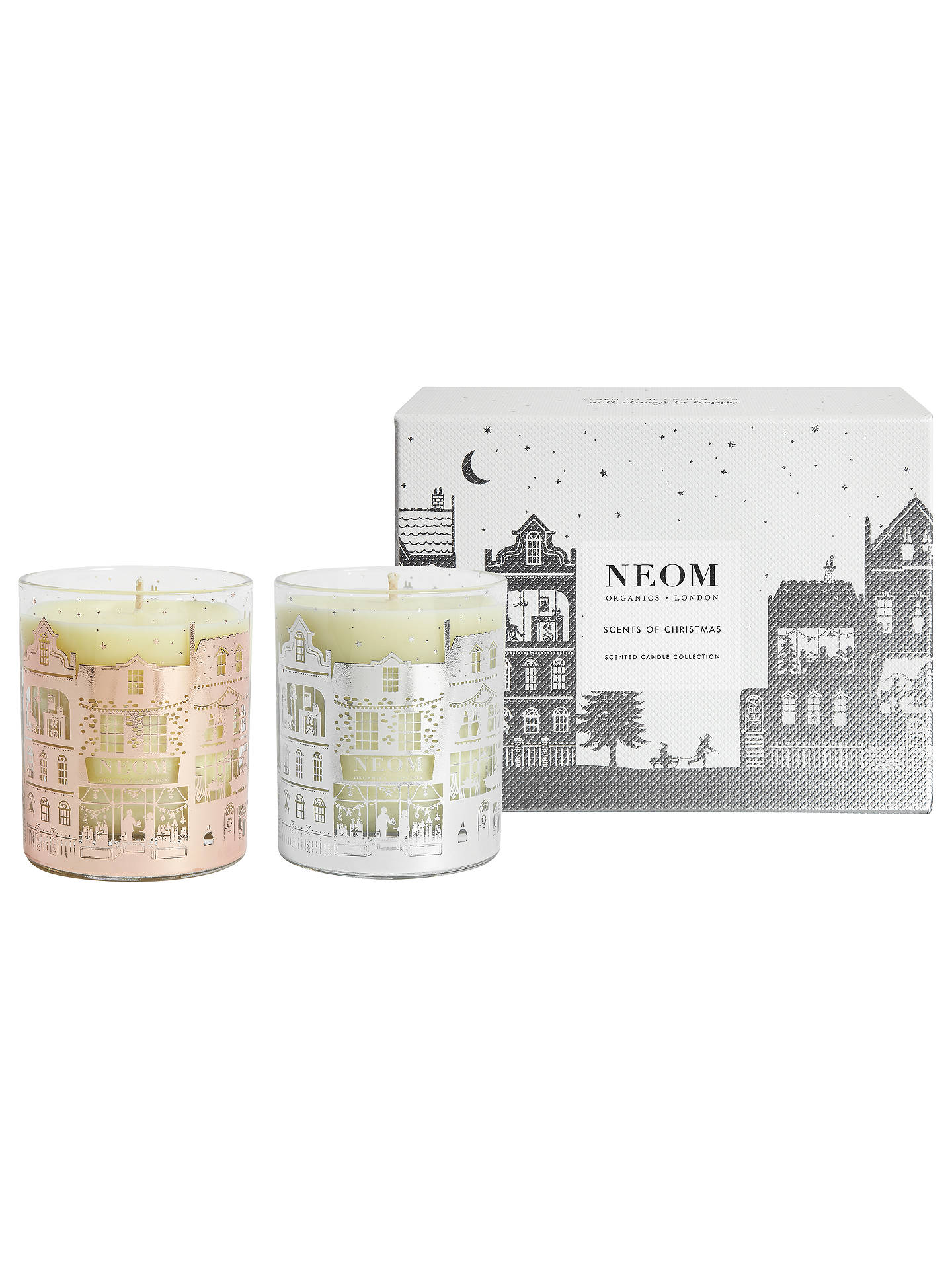 Neom Organics London Scents Of Christmas Candle Gift Set Online At Johnlewis