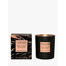 Buy Stoneglow Luna Amber & Vetiver Scented Candle Online at johnlewis.com