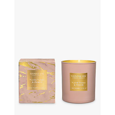 Stoneglow Luna Ylang & Amber Scented Candle