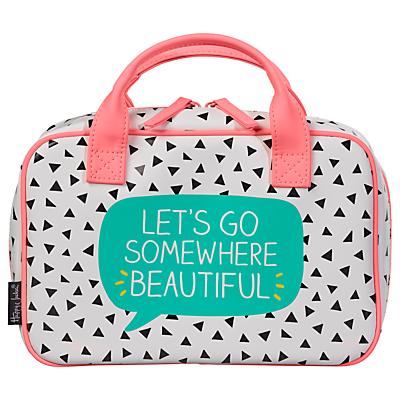 Happy Jackson 'Lets Go' Organiser Travel Bag