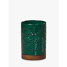 Buy Orla Kiely Small Ceramic Linear Steam Lantern, Green Online at johnlewis.com