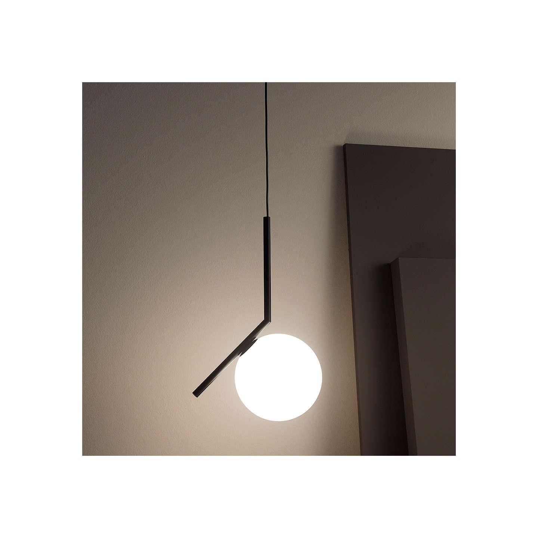 Flos Ic S1 Ceiling Light 20cm Black Online At Johnlewis
