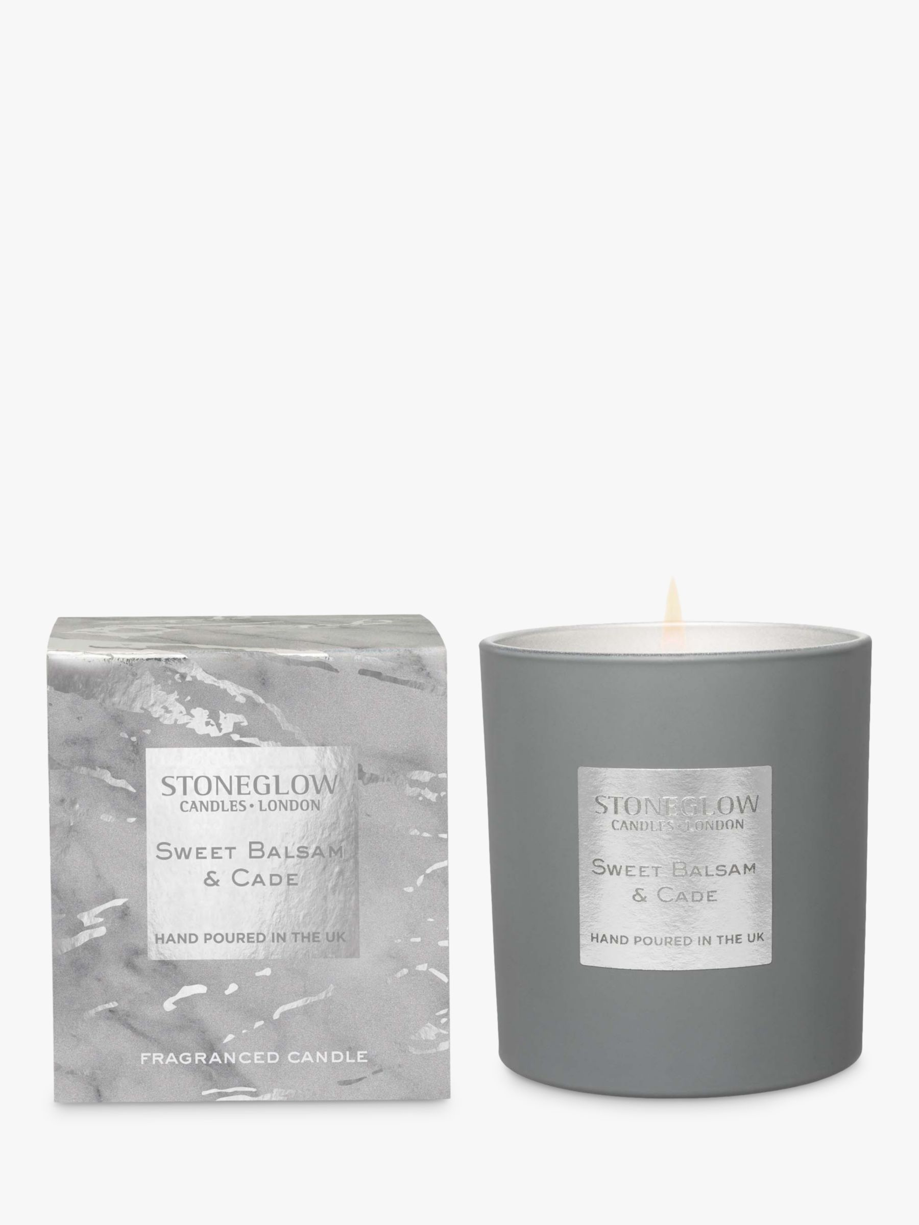 Stoneglow Stoneglow Luna Sweet Balsam & Cade Scented Candle, 220g