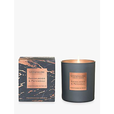 Stoneglow Luna Sandalwood & Patchouli Scented Candle