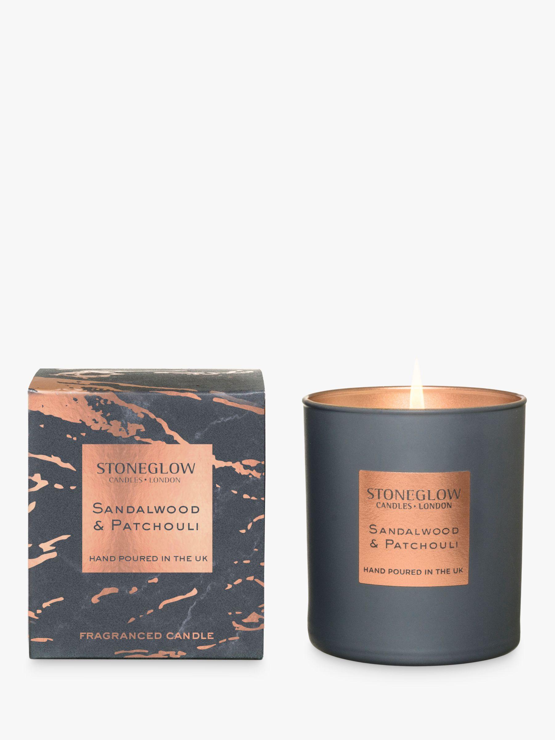 Stoneglow Stoneglow Luna Sandalwood & Patchouli Scented Candle
