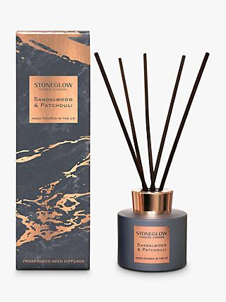 Stoneglow Luna Sandalwood & Patchouli Reed Diffuser, 120ml