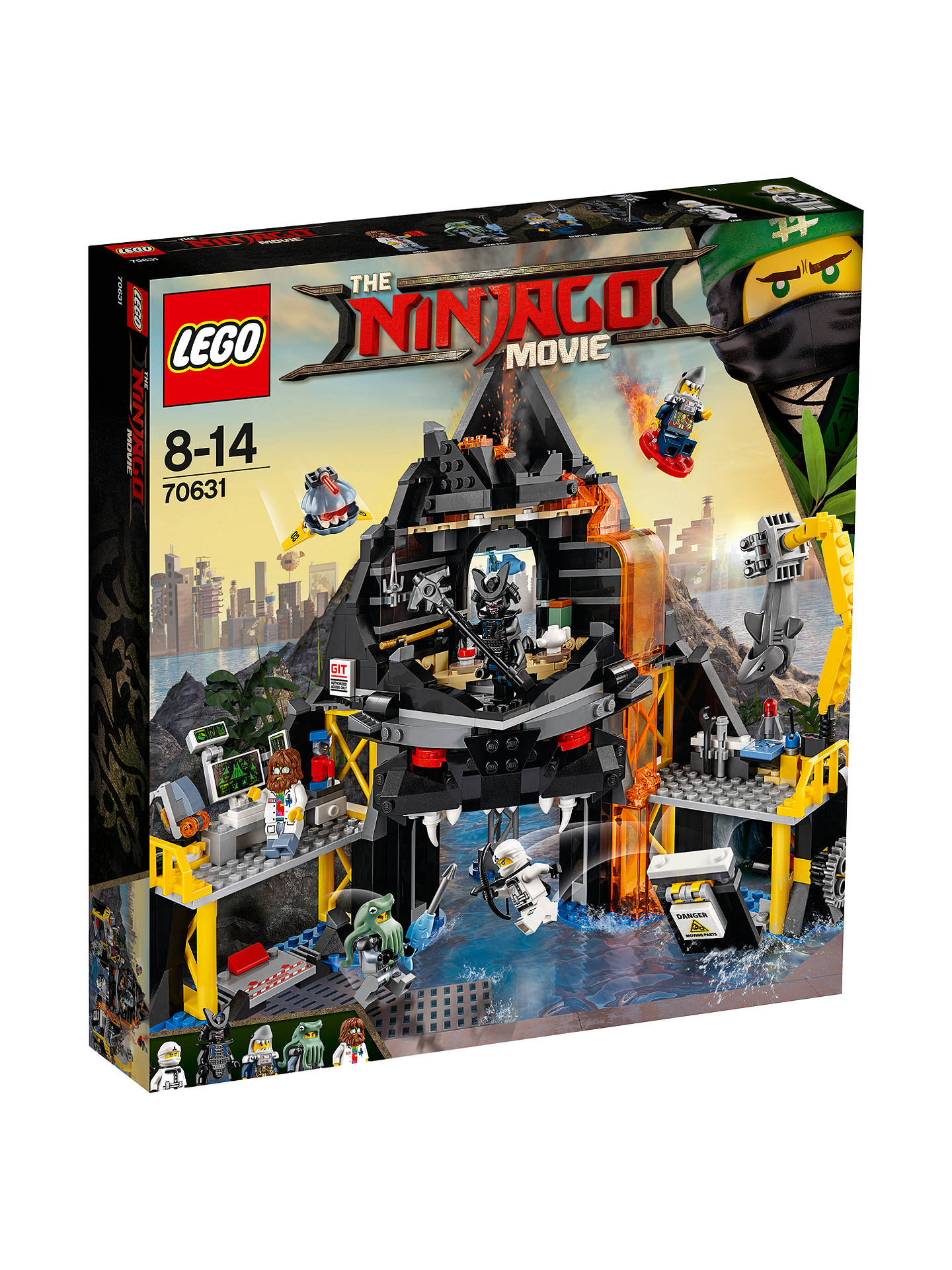 Lego Ninjago 70631 Garmadon Volcano Lair At John Lewis Partners