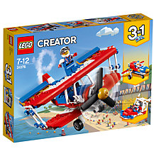 Buy LEGO Creator 31076 3-in-1 Daredevil Stunt Plane Online at johnlewis.com