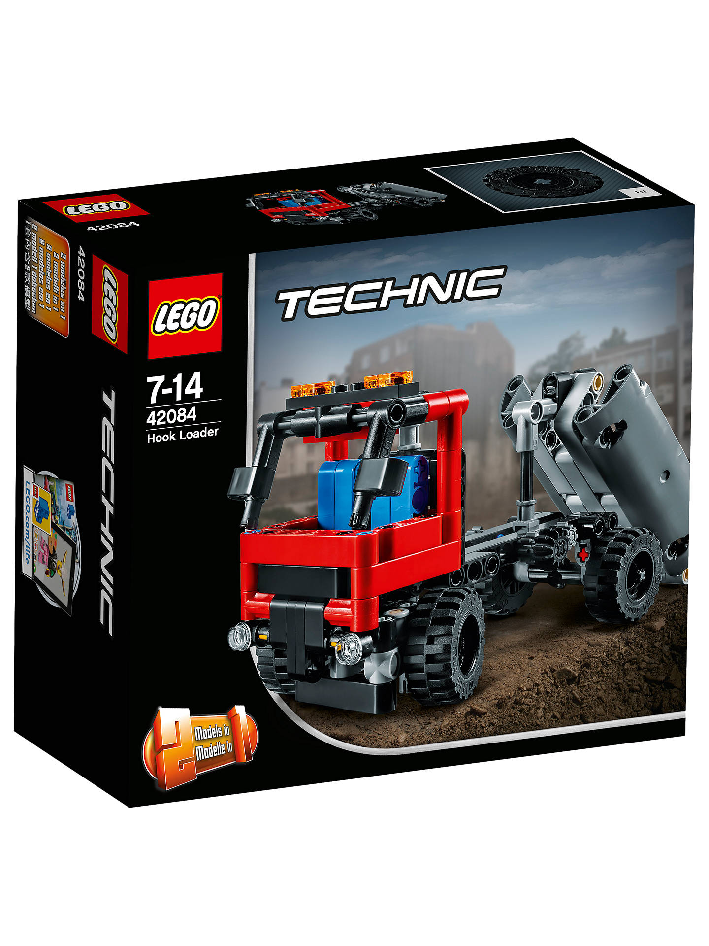 Lego Technic 42084 2 In 1 Hook Loader At John Lewis Partners