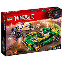 Buy LEGO Ninjago 70641 Ninja Nightcrawler Online at johnlewis.com