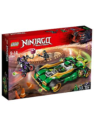 LEGO Ninjago 70641 Ninja Nightcrawler Car and Bike