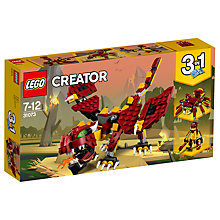 Buy LEGO Creator 31073 3 in 1 Mythical Creatures Online at johnlewis.com