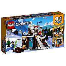 Buy LEGO Creator 31080 3 in 1 Modular Winter Vacation Online at johnlewis.com