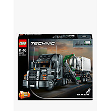 Buy LEGO Technic 42078 2-in-1 Mack Anthem Online at johnlewis.com