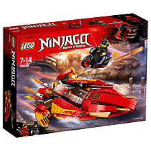 Buy LEGO Ninjago 70638 Katana V11 Boat Online at johnlewis.com
