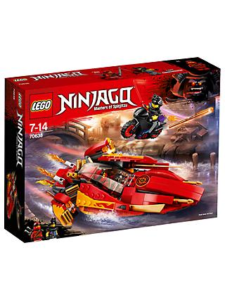 LEGO Ninjago 70638 Katana V11 Boat and Bike