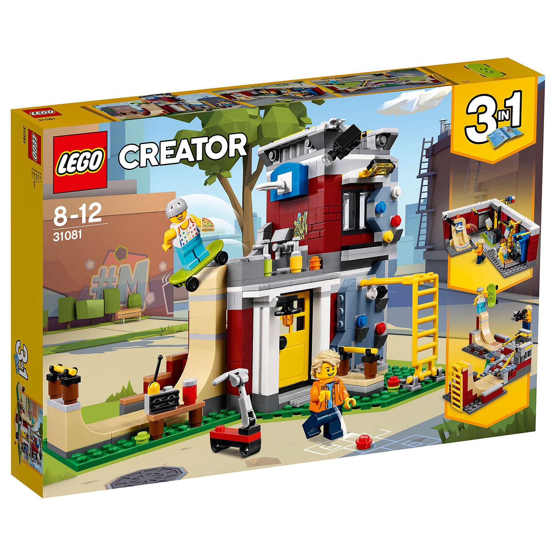 lego creator 31081 3 in 1 modular skate house at john lewis. Black Bedroom Furniture Sets. Home Design Ideas