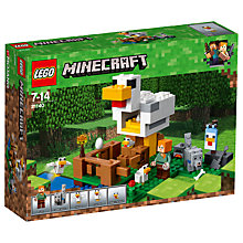 Buy LEGO Minecraft 21140 The Chicken Coop Online at johnlewis.com