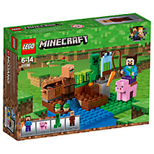 Buy LEGO Minecraft 21138 The Melon Farm Online at johnlewis.com