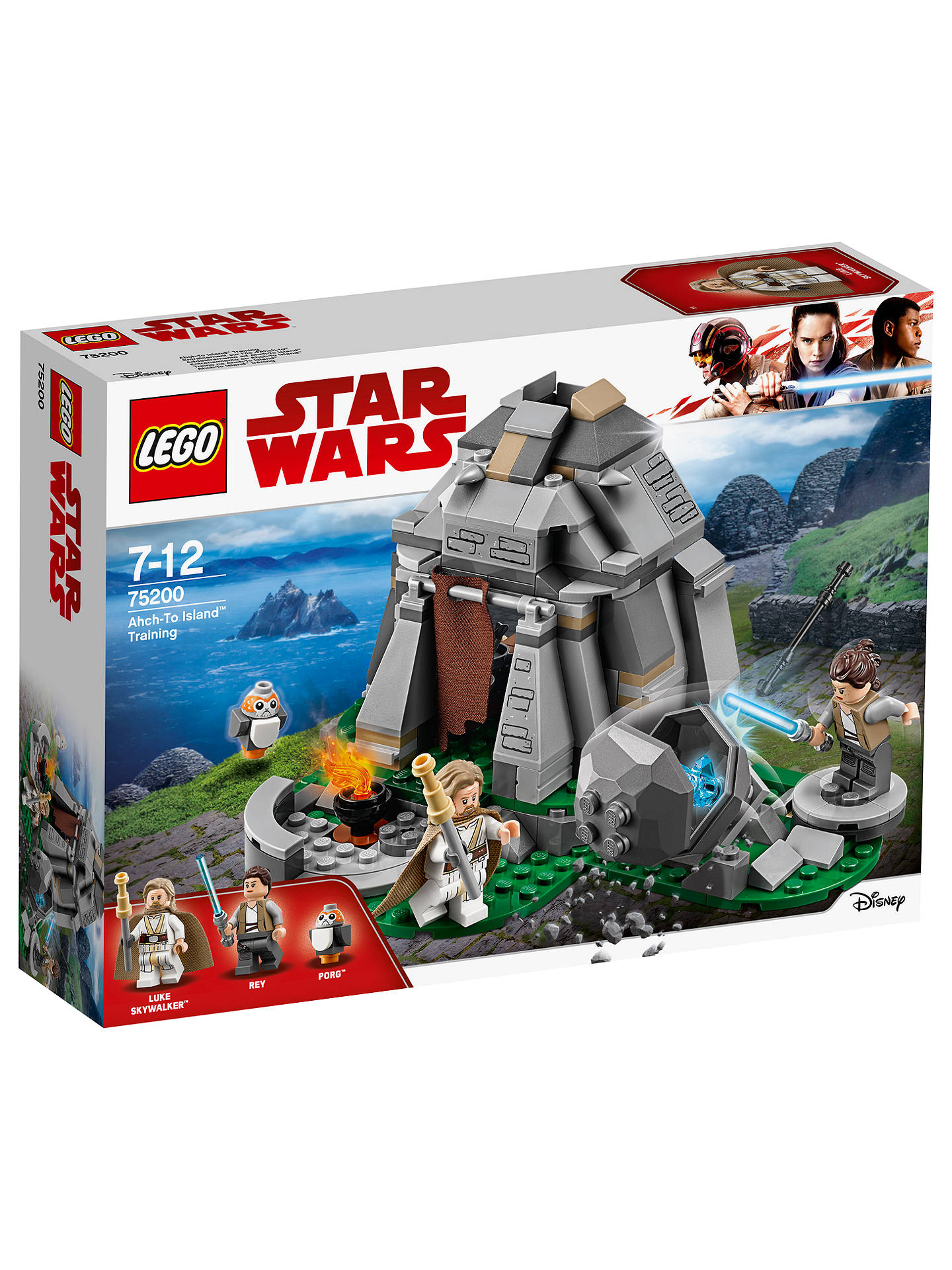 118ae8e3c4 Buy LEGO Star Wars  The Last Jedi 75200 Ahch-to Island Training Online at  ...