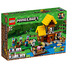 Buy LEGO Minecraft 21144 The Farm Cottage Online at johnlewis.com
