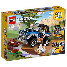 Buy LEGO Creator 31075 3 in 1 Outback Adventures Online at johnlewis.com