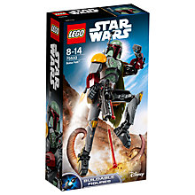 Buy LEGO Star Wars 75533 Boba Fett Buildable Figure Online at johnlewis.com