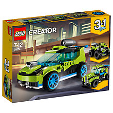 Buy LEGO Creator 31074 3 in 1 Rocket Rally Car Online at johnlewis.com