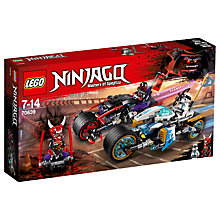 Buy LEGO Ninjago 70639 Street Race of Snake Jaguar Online at johnlewis.com