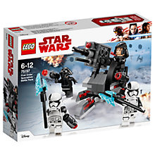 Buy LEGO Star Wars: The Last Jedi 75197 First Order Specialists Battle Pack Online at johnlewis.com