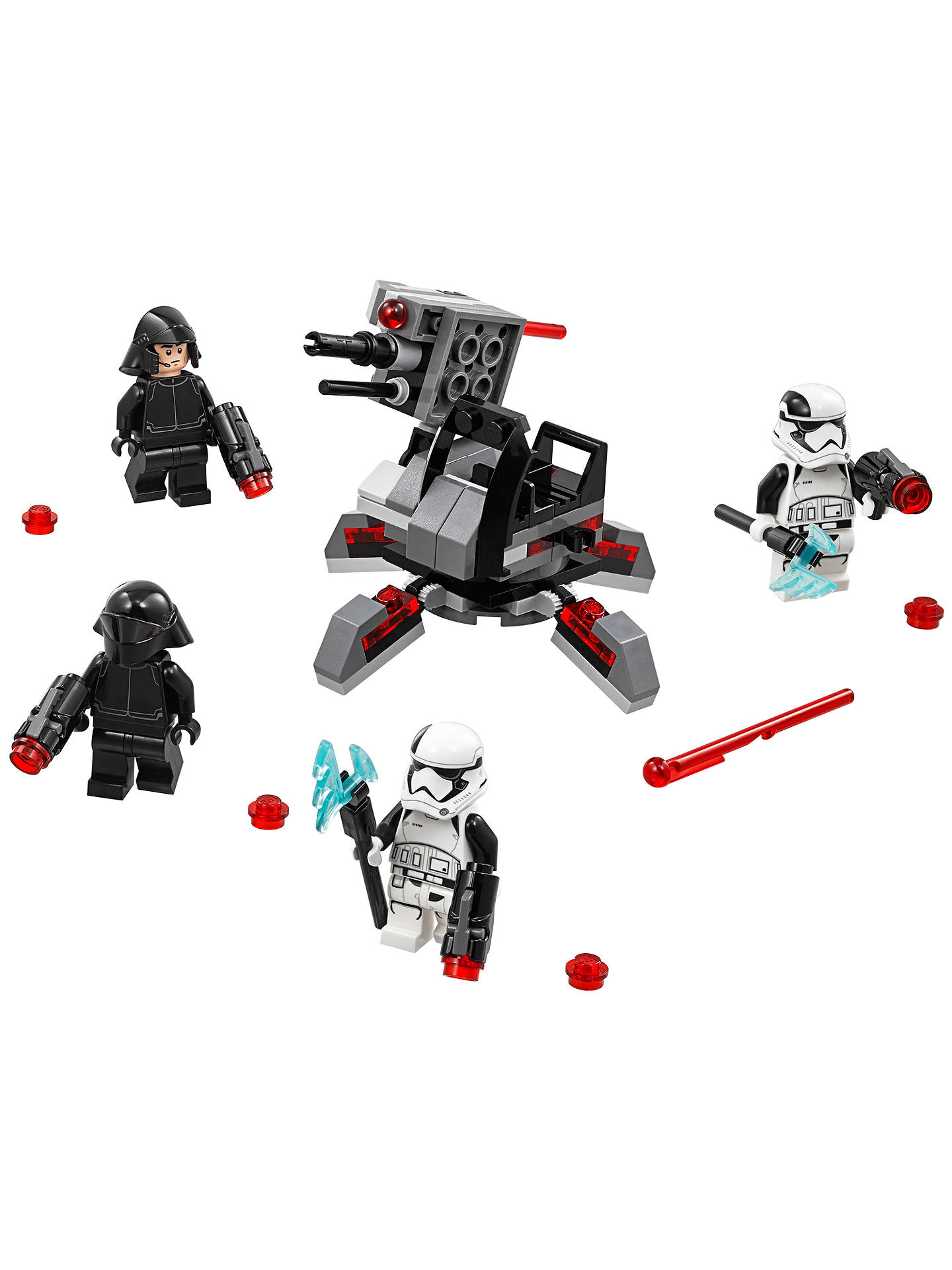 BuyLEGO Star Wars: The Last Jedi 75197 First Order Specialists Battle Pack Online at johnlewis.com