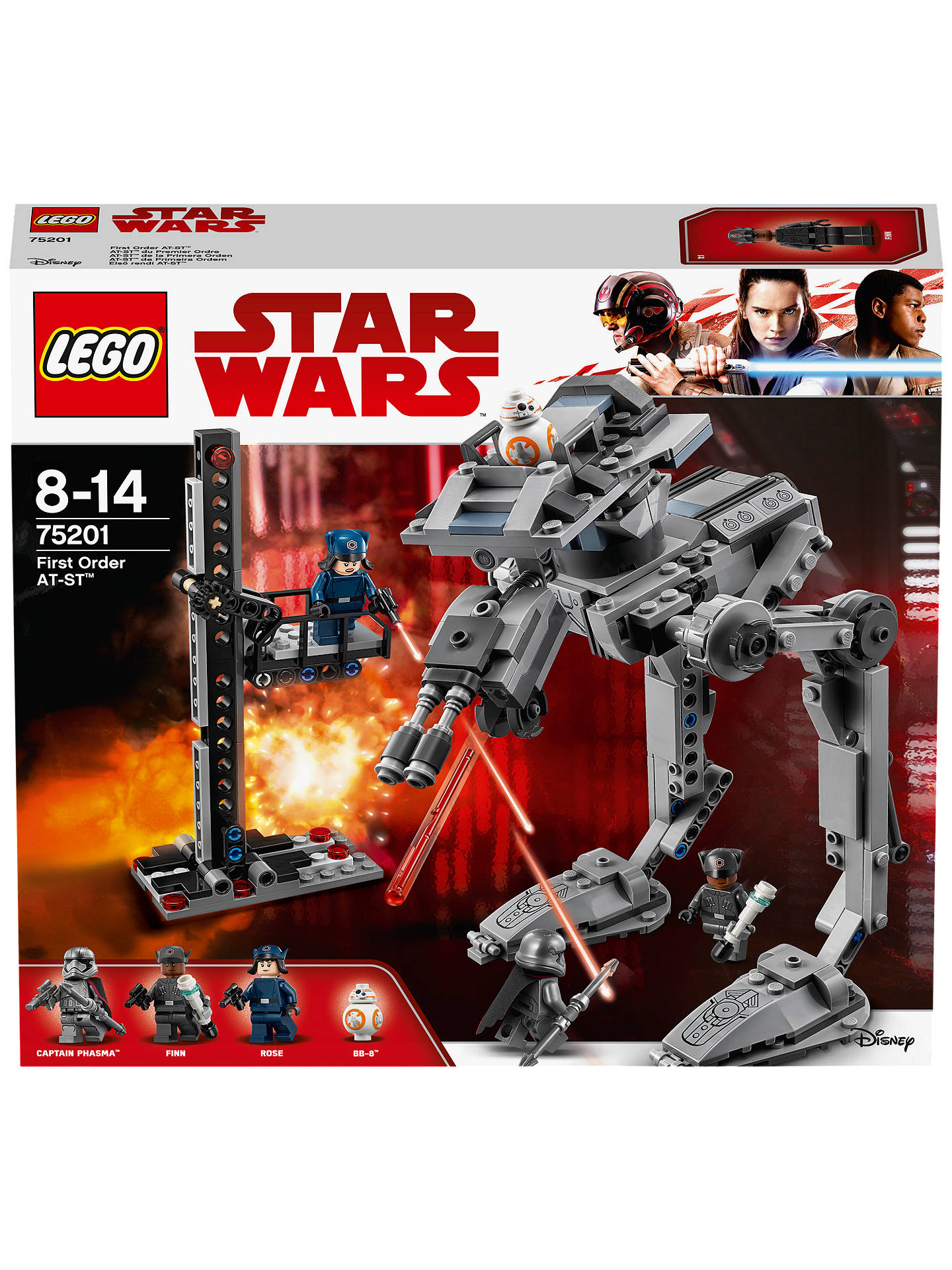 Lego Star Wars The Last Jedi 75201 First Order At St Walker At John