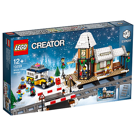 Buy LEGO Creator 10259 Winter Village Station Online at johnlewis.com