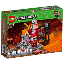 Buy LEGO Minecraft 21139 The Nether Fight Online at johnlewis.com
