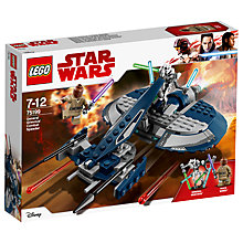 Buy LEGO Star Wars 75199 General Grievous Combat Speeder Online at johnlewis.com