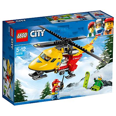 Image of LEGO City 60179 Ambulance Helicopter