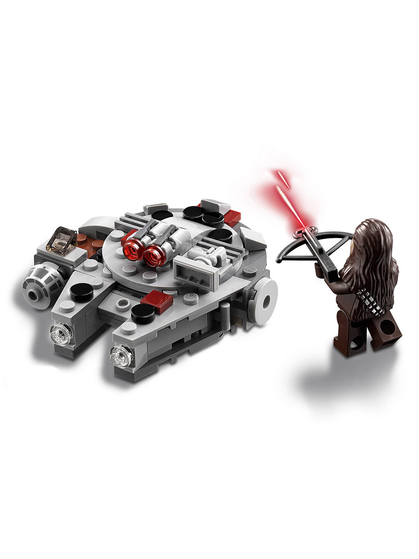 Lego Star Wars 75193 Millennium Falcon Microfighter At John Lewis