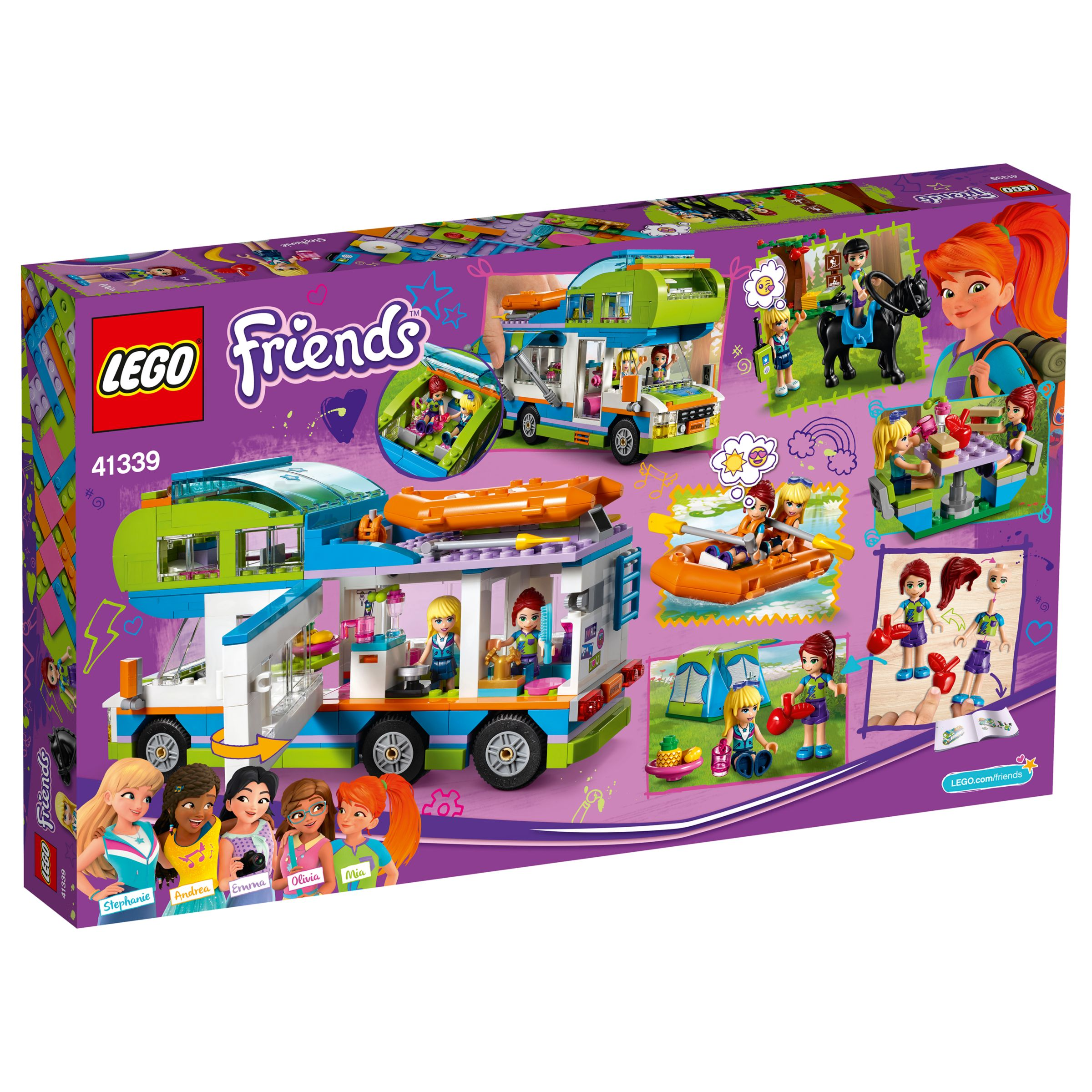 Lego Friends 41339 Mias Camper Van At John Lewis Partners