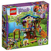 Buy LEGO Friends 41335 Mia's Tree House Online at johnlewis.com